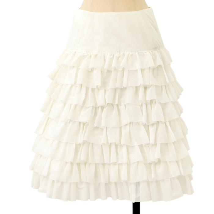Juliette et Justineのフリルティアード編み上げアンダースカートの買取実績