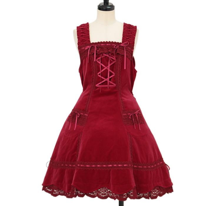 BABY, THE STARS SHINE BRIGHTの別珍裾スカラップジャンパースカートの買取実績