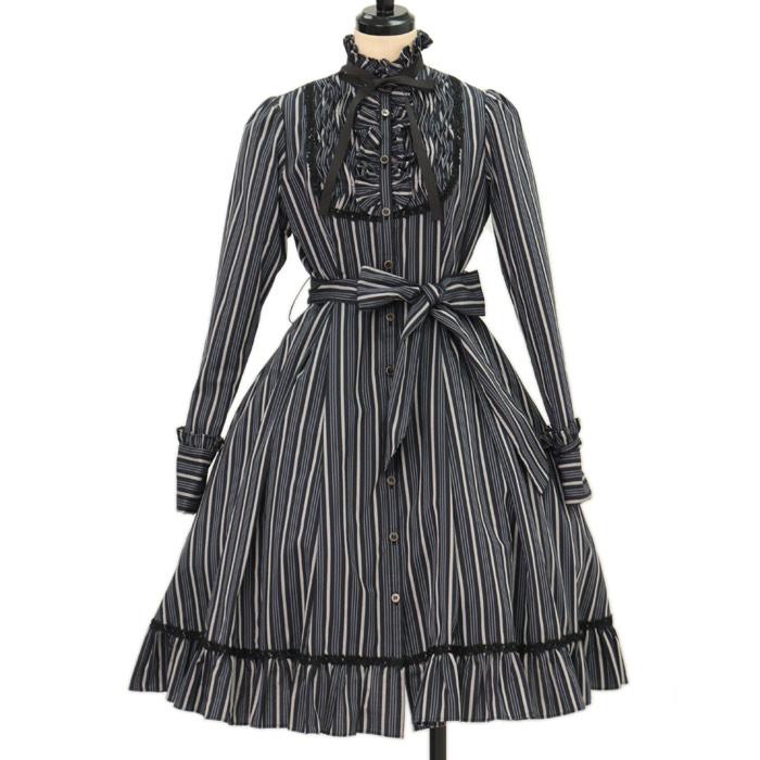 Victorian Maidenのレジメンタルストライプドレスワンピースの買取実績