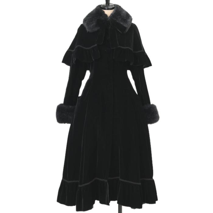 Victorian Maidenのケープ付きベロアコートの買取実績