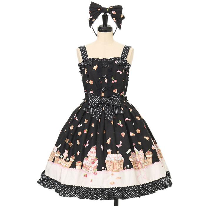 Angelic Prettyのお菓子の国ジャンパースカート+カチューシャの買取実績