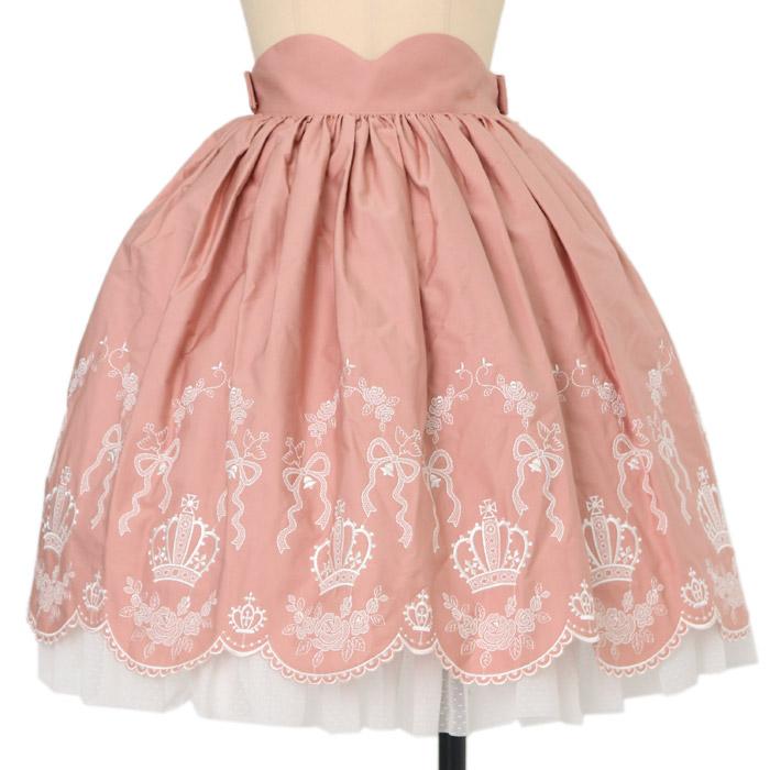 Innocent Worldのクラウン刺繍スカートの買取実績
