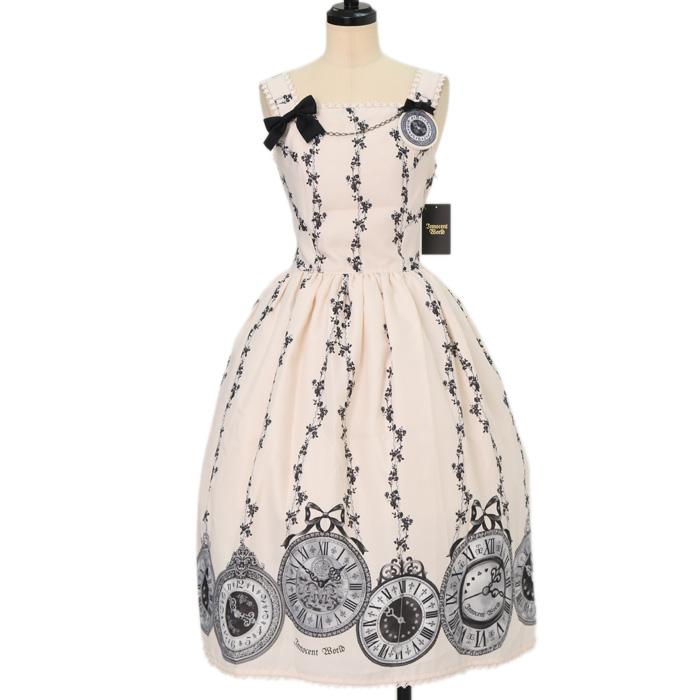 Innocent Worldの薔薇の懐中時計ブローチジャンパースカートの買取実績
